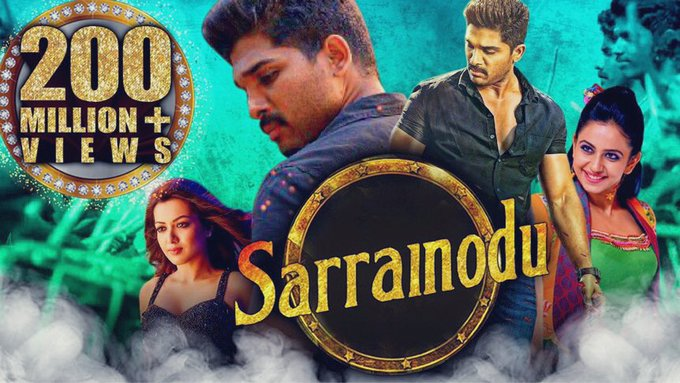 Download Sarrainodu 2016 Hindi Dubbed South Hindi Dubbed Movies Allu Arjun,  Aadhi,  Rakul Preet Singh