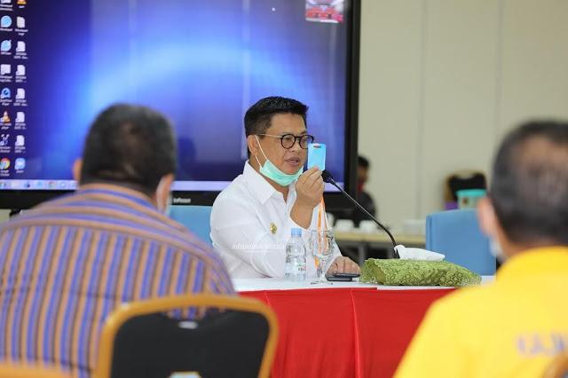 Gubernur Irianto Minta OPD Bekerja Terintegrasi