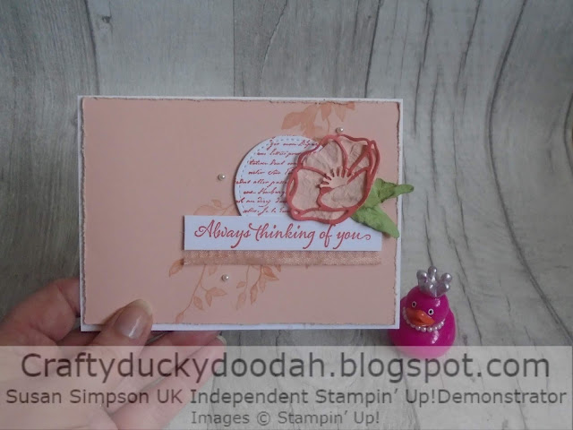 Craftyduckydoodah!, Very Versailles, Poppy Moments Dies, Shabby Chic Style, Susan Simpson UK Independent Stampin' Up! Demonstrator, Supplies available 24/7 from my online store,