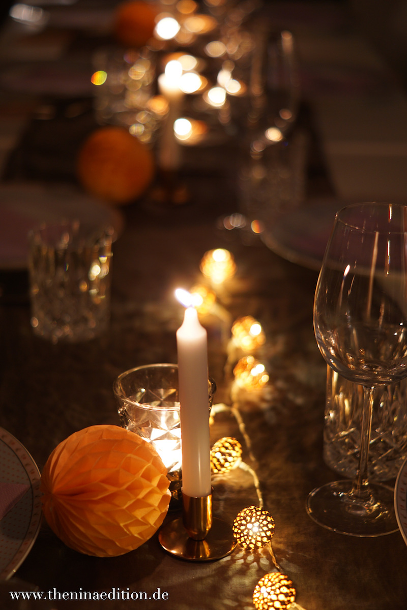 Thanksgiving Tischdeko