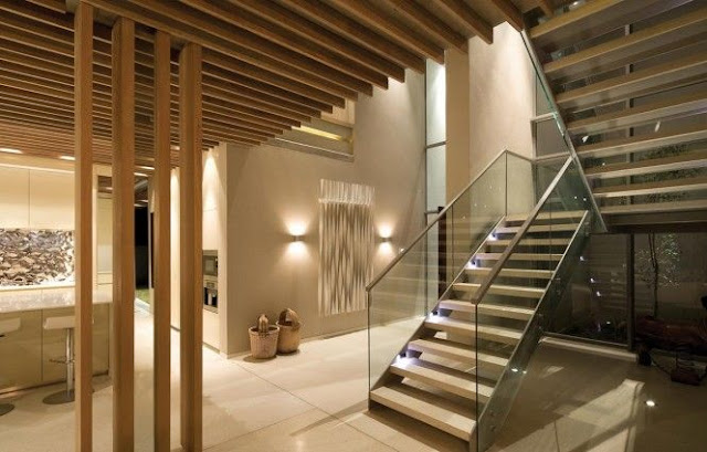 front staircase elevation design
