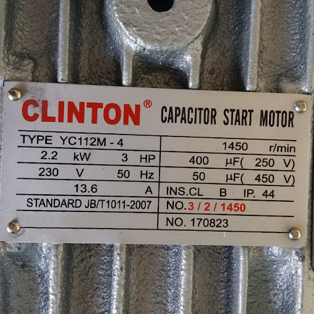 มอเตอร์ไฟฟ้า 3 แรง 2 สาย ราคาถูก