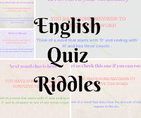 Quizzes to Test Your English Vocabulary with answers