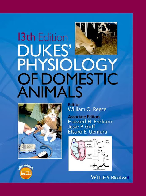 Dukes' Physiology of Domestic Animals  13th Ed -  WWW.VETBOOKSTORE.COM