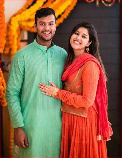 mayank agarwal marriage photos