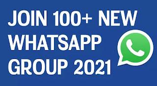 100+ New WhatsApp group links 2021