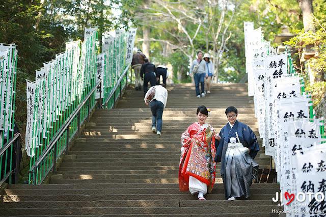 熊野本宮大社での挙式撮影