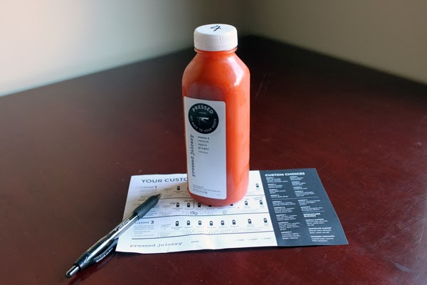 Pressed Juicery Roots 4: Carrots, apple & ginger