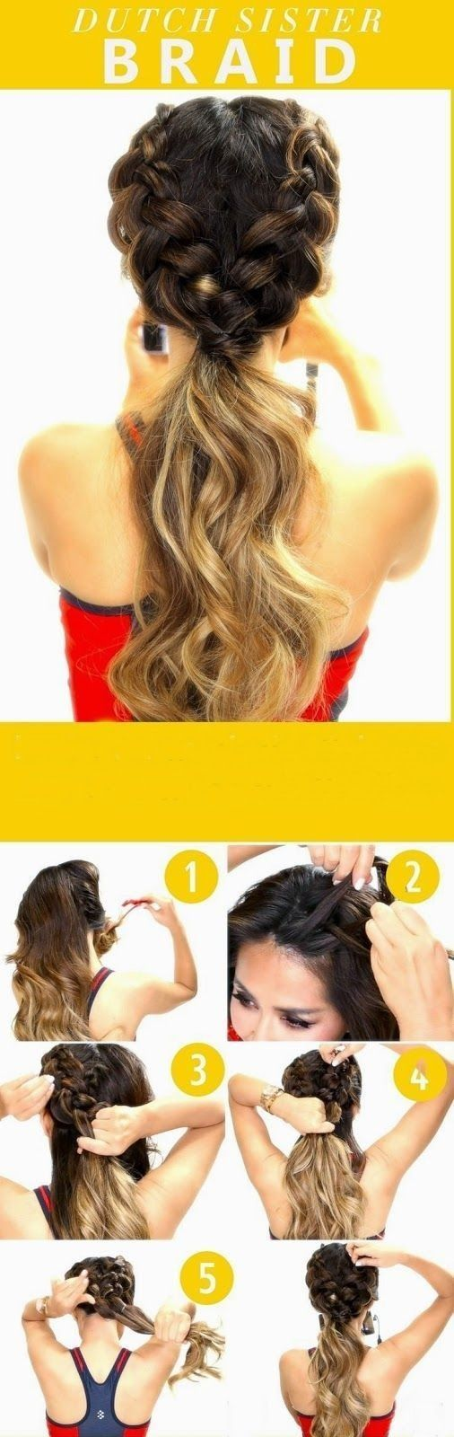 10 Super-easy Trendy hairstyles for summer