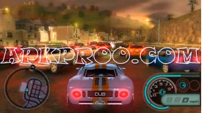 Download Game PPSSPP ISO Midnight Club LA Remix For Android Free