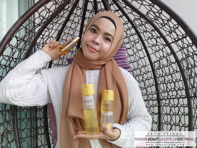 Review The Yeon Canola Honey skincare