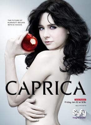 caprica battlestar galactica serial plakat
