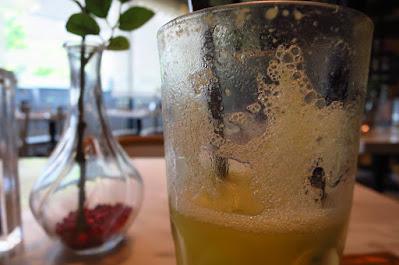 Dancing Fish Signature, starfruit juice