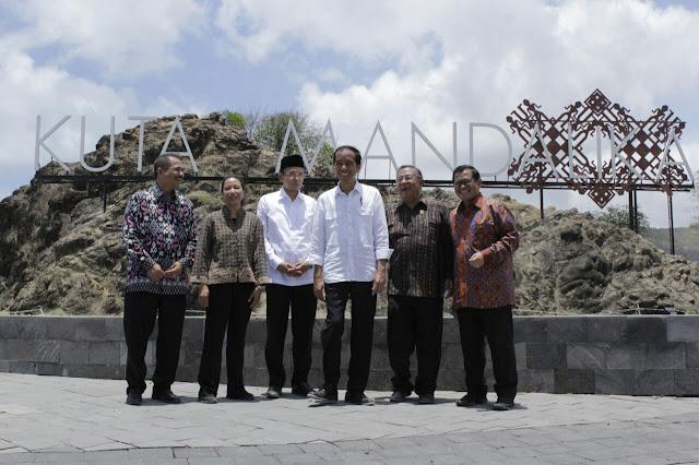 Presiden Jokowi Resmikan KEK Mandalika