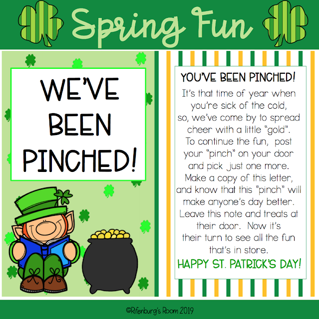 image about You've Been Elfed Free Printable referred to as St. Patricks Working day Enjoyable - Youve Been Pinched - Rifenburgs Place