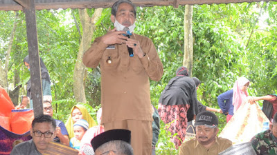 Bupati Sidrap Hadiri Pesta Panen di Desa Bulu Cenrana