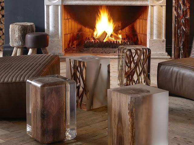 drveni stolovi slike