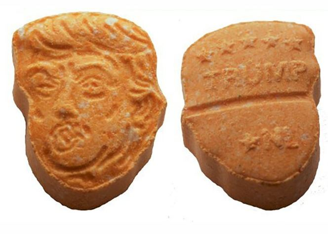 Police in Germany seize over 5,000 ecstasy pills shaped like Donald Trump's head