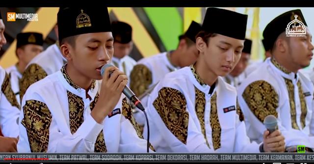 Lirik Azka taslimi Majlis Syubbanul Muslimin