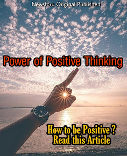 Power of Positive Thoughts - Positive Thinking makes you Happy
