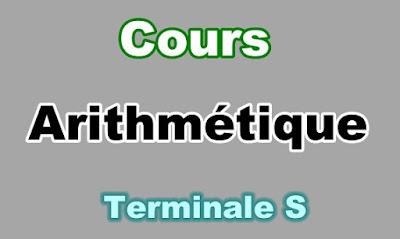 Cours Arithmétique Terminale S PDF