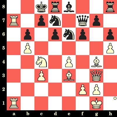 Les Blancs jouent et matent en 4 coups - Szymon Winawer vs Fritz Riemann, Berlin, 1881