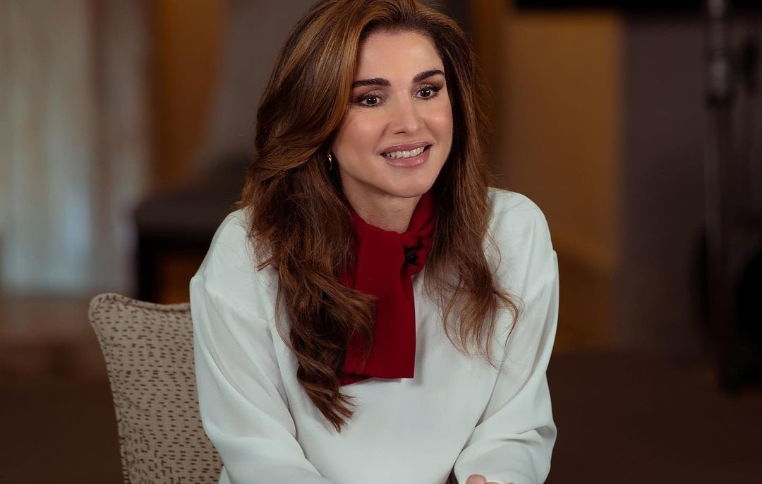 Queen Rania of Jordan highlighted global inequality on International Women's Day