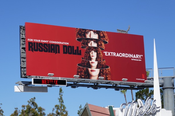 Russian Doll season 1 Emmy FYC billboard