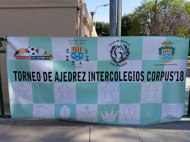 Crónica del Torneo Intercolegios Fiestas del Corpus 2018 por Antonio Cascales