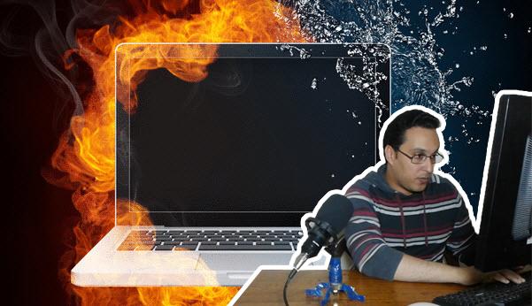 أسباب مشكلة ارتفاع درجة حرارة اللابتوب وحلولها