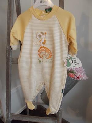 Pijama vainilla bebe nueva coleccion primavera