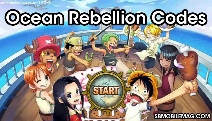 Ocean Rebellion Codes, Ocean Rebellion Redeem Codes, Ocean Rebellion Promo Codes