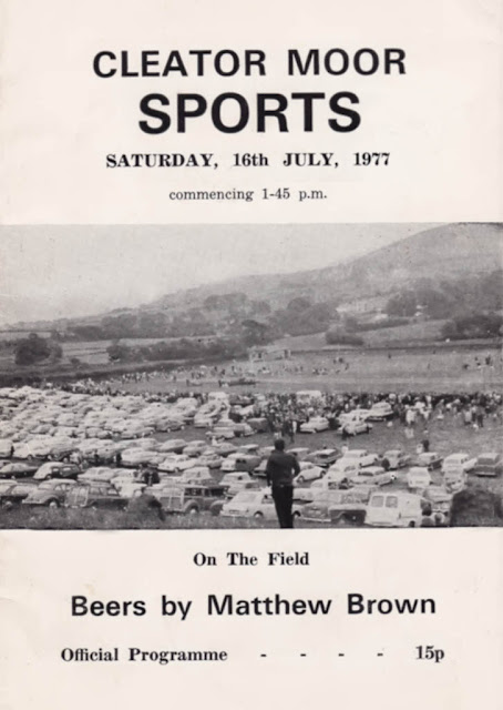 Cleator Moor Sports, Official Programme, 1977