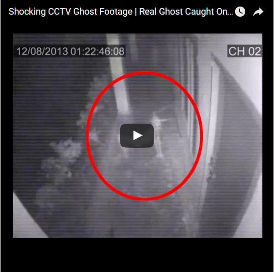 !!SHOCKING CCTV GHOST FOOTAGE / REAL GHOST CAUGHT ON ...