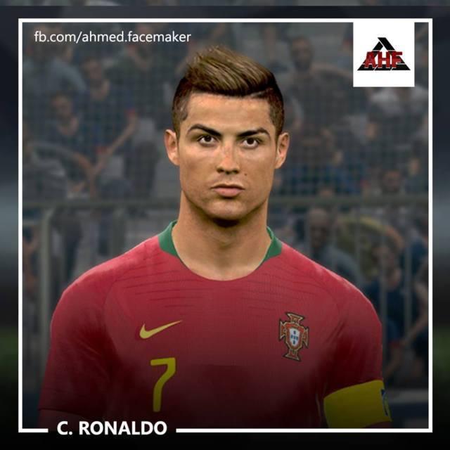 Cristiano Ronaldo Flashback Face PES 2017