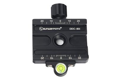Sunwayfoto DDC-60i QR Clamp Topview
