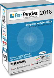 BarTender Enterprise Automation 2016
