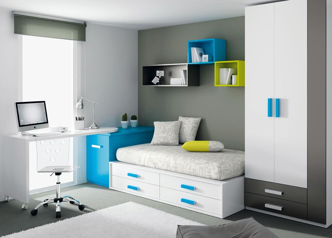 Camere per ragazzi consigli mobili ros for Camere per ragazzi