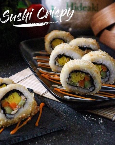 Cara Buat Sushi : sushi, Membuat, Sushi, Crispy