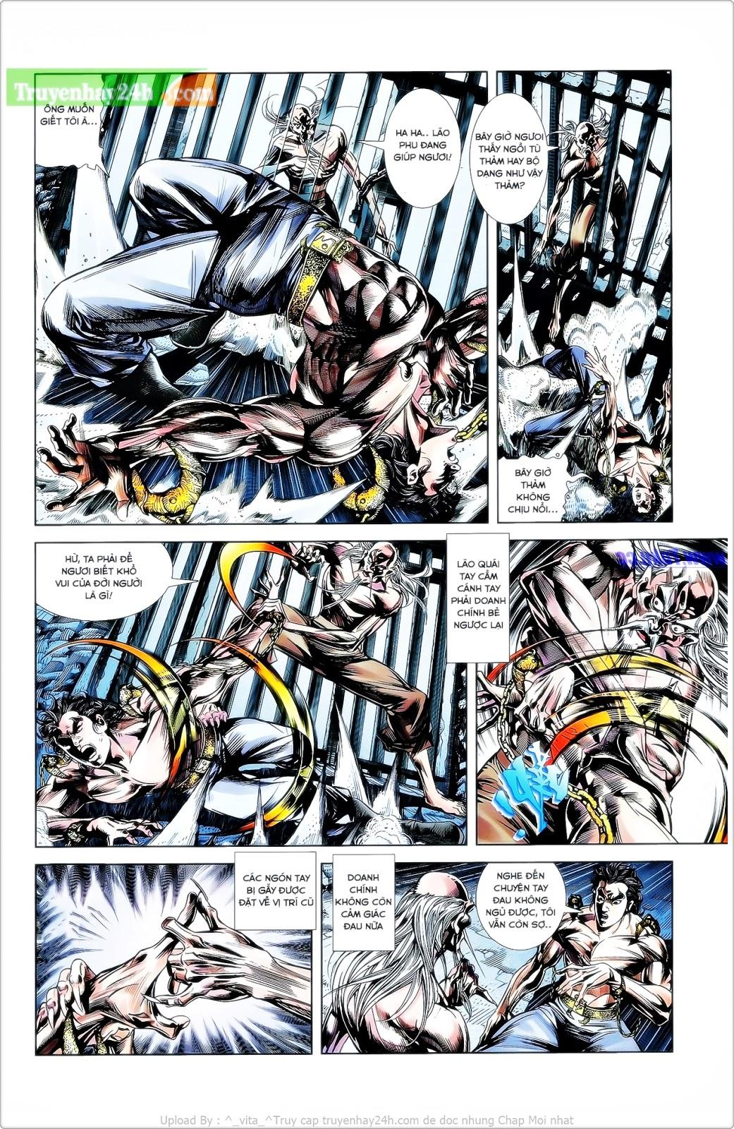 Tần Vương Doanh Chính chapter 25 trang 9