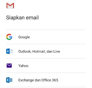 siapkan email