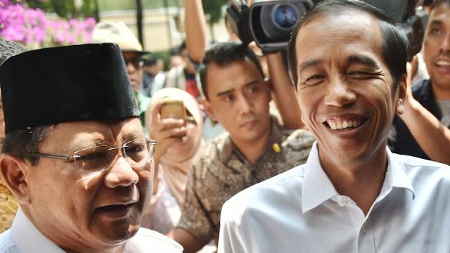 Menakar Kekuatan Jokowi dan Prabowo di Pilpres 2019