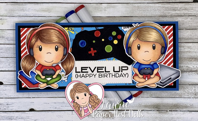 Level Up Birthday Card