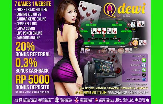 Bonus Free Chips Samgong Online QDewi