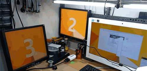 Cara Membuat Satu CPU Komputer Diguankan Untuk Banyak Monitor