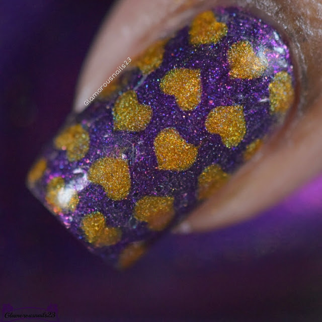Clairestelle8 February 2017 Day 7 - Hearts & 30 Days Of Colour Week 1 - Sparkle