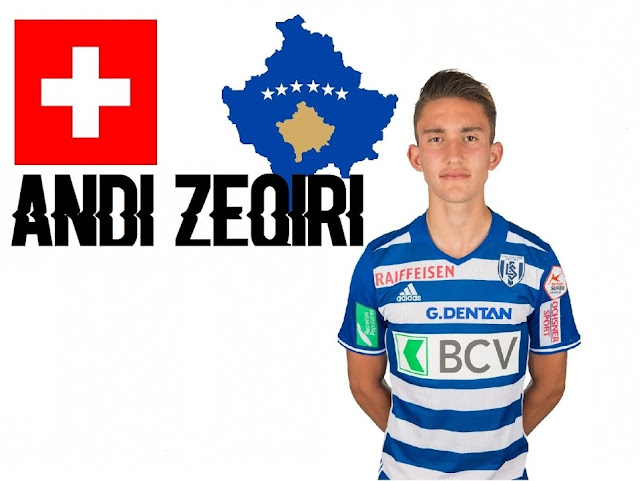 Andy Zeqiri, the great Albanian talent in Swiss football