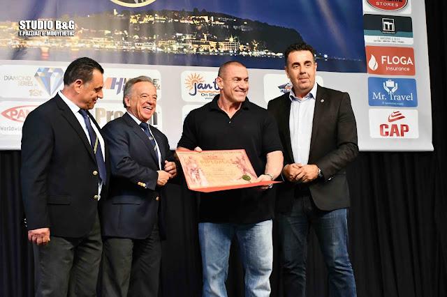 Έναρξη για τους διεθνείς αγώνες σωματικής διάπλασης IFBB - ELITE PRO SHOW στο Ναύπλιο