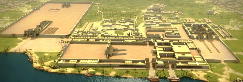 Amarna la nueva capital Egipcia