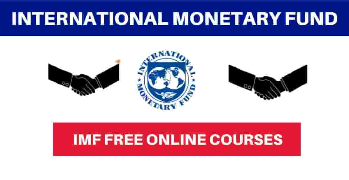 IMF Training Scholarship 2021 With Free Certificates